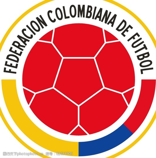 Federaci_and__243_n_Colombiana_de_F_and__250_tbollogo设计欣赏Federaci_and__243_n_Colombiana_de_F_and__